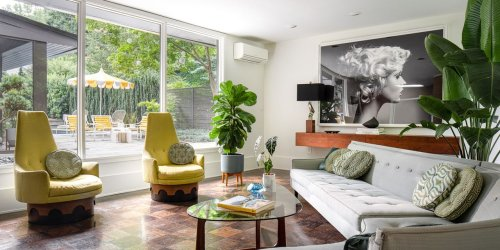 Carefully Restored Mid-Century Atlanta Home Hits the Market