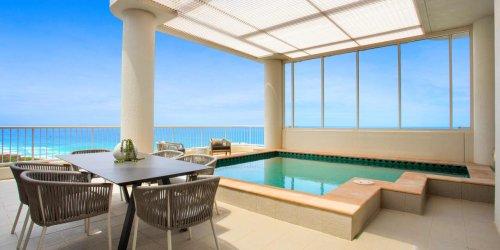 A Mansion-Sized Duplex Penthouse Perched Above Australia's Gold Coast