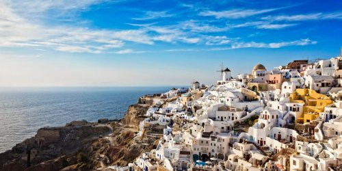 With Whitewashed Cave Houses and Sunset Vistas, Oia Is the Jewel in Santorini's Crown