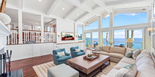 Live Like 'The King of Cool' in This Newly Listed Malibu Beach House for $12.2 Million