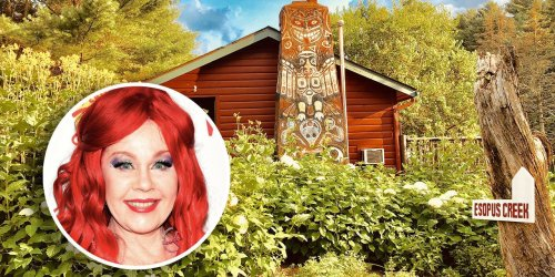Love Shack Times 10: Kate Pierson of The B-52s Lists Her Catskills Compound for $2.2 Million