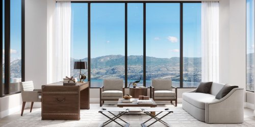 This White-Box Penthouse Is Poised to Set a Record in Kelowna, Canada