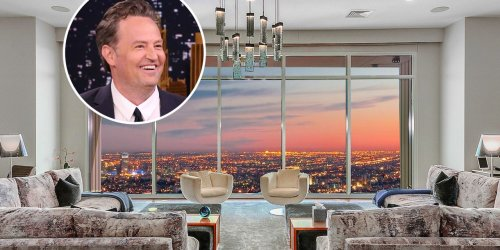 Matthew Perry Sells Los Angeles Penthouse for $21.6 Million After Years on the Market