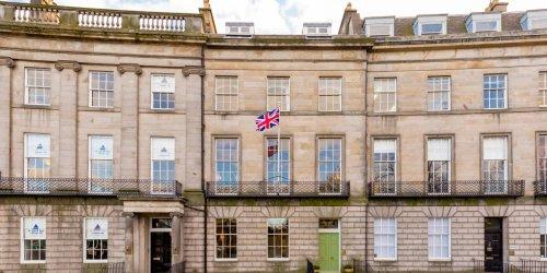 A Vast Georgian-Era Townhouse Spans More Than 7,000 Square Feet in Edinburgh's West End