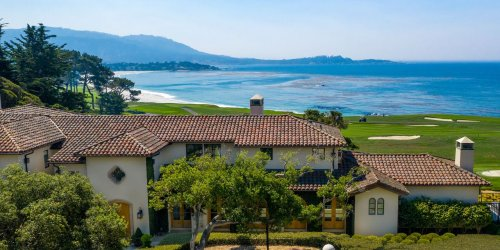 Mansion Overlooking California's Pebble Beach Golf Links Sells for $32.7 Million, a Monterey County Record