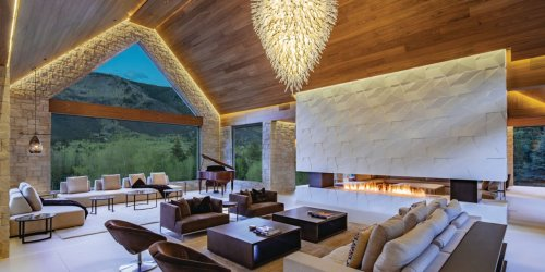 A 20,000-Square-Foot Mansion With a Bowling Alley in the Heart of Aspen, Colorado