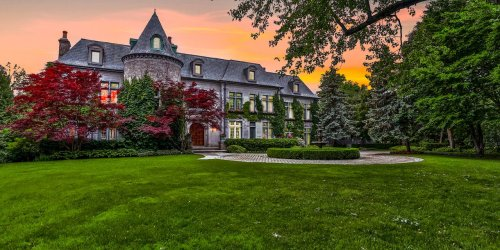 A Limestone Castle in Toronto With Hockey in the Backyard