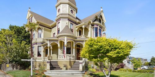 There's a Prohibition-Era Speakeasy Under This Newly Listed Victorian Mansion in California