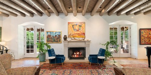 A 36-Acre Pueblo-Style Equestrian Estate on the Old Santa Fe Trail in New Mexico