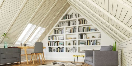 Designing an Attic Room With Slanted Eaves