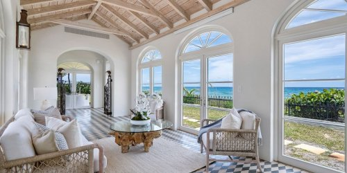 1920s Florida Mansion With 200 Feet of Ocean Frontage Hits the Market for $28.5 Million