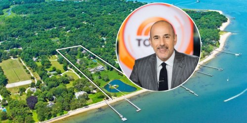 Matt Lauer Relists Waterfront Property in Sag Harbor, New York, for $44 Million
