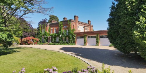 Victorian-Era Mansion in the U.K. With a Pool and a Tennis Court Asks £10 Million