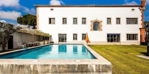 A Converted Monastery and Vineyard Overlooks the Pyrénées From the South of France