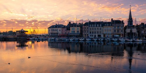 Located on Northern France's 'Flower Coast,' Deauville Offers Historic Half-Timbered Townhouses and Lavish Countryside Chateaus