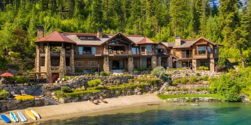 A Secluded Idaho Lodge on 30 Acres in the Uber-Hot Market of Coeur d'Alene