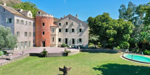 Two 500-Year-Old Mansions Join as One in This Historic Corsican Estate