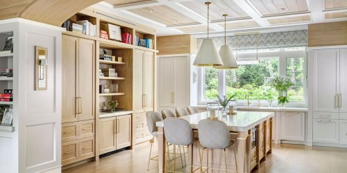 Designing a Chic, Timeless Kitchen Using Blonde Wood