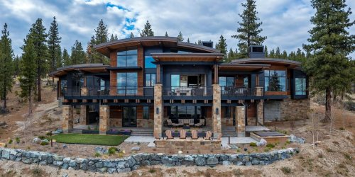 Mountain Home With Views of Nevada's Carson Valley Lists for $12.5 Million