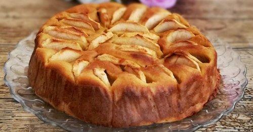 Gâteau aux pommes sans sucre et sans beurre - Ma Pâtisserie