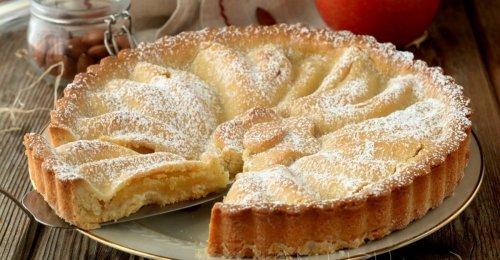 Tarte aux pommes et amandes de grand-mère - Ma Pâtisserie