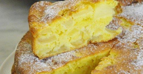 Gâteau aux pommes mascarpone cyril lignac