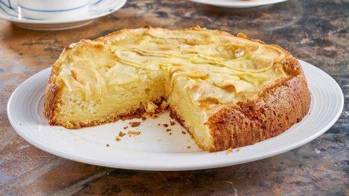 Gâteau aux pommes en 15 minutes sans œufs et sans beurre