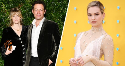 """Dominic West's Wife, Catherine, Admits Their Marriage Faced """"Ups And Downs"""" Since Lily James Drama"""