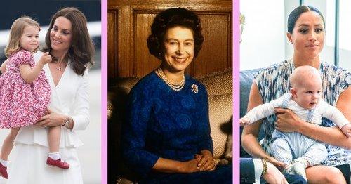 Quels sont les surnoms que se donnent les membres de la famille royale ?