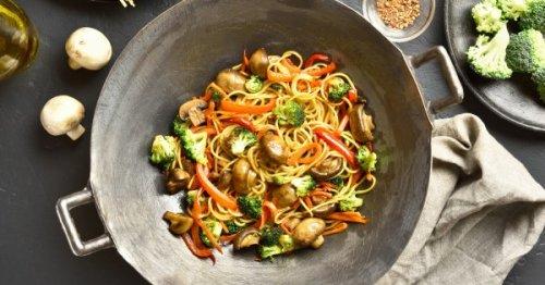 Nos recettes de wok de légumes