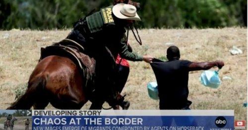 Texas : les images de gardes-frontières à cheval repoussant des migrants haïtiens bouleversent le pays