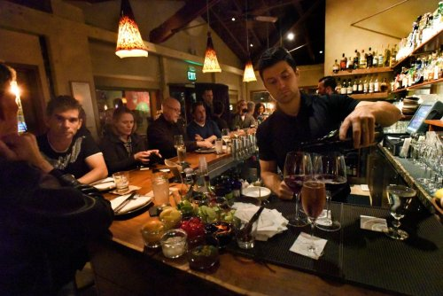 Downtown Larkspur Wine Stroll among food events in Marin