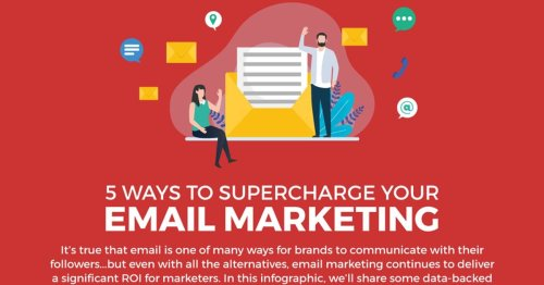 Five Ways to Supercharge Your Email Marketing [Infographic]
