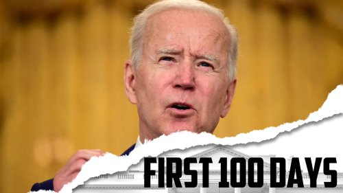 Here's where Biden stands on key goals at his 100-day mark