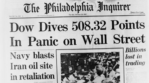 Opinion: Many stock investors are too young to remember Black Monday in October 1987 — why that's a problem