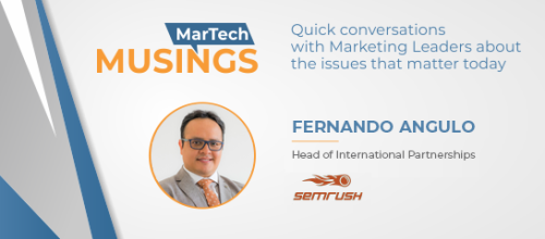 A CMO's 5-Point Search Manifesto for 2019, with Fernando Angulo, SEMrush