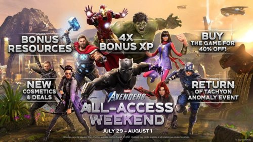 Try 'Marvel's Avengers' at No Cost July 29 to August 1