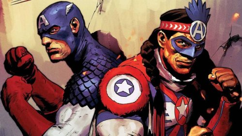 Steve Rogers Teams Up with an All-New Shield-Bearer in 'The United States of Captain America' #3