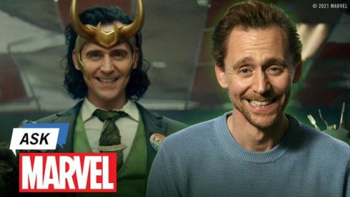 Tom Hiddleston Talks Career Tips (and Tricks) and Answers YOUR 'Loki' Questions