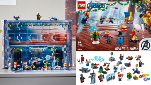 Get Into the (Early) Holiday Spirit with the LEGO Avengers Advent Calendar