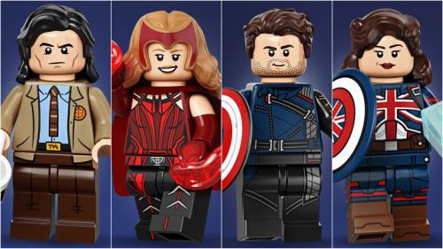 Loki, Wanda, Bucky, Captain Carter, and More Arrive as LEGO Minifigures