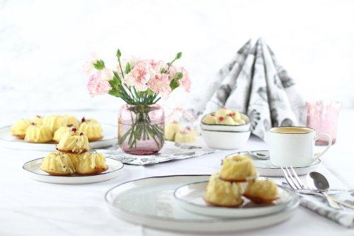 Mini-Gugl mit getrockneten Blüten für den Muttertagstisch - Mary loves