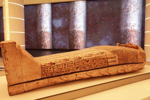 Recently discovered ancient pharaoh's coffin to be displayed at the Egyptian pavilion for Expo 2020 Dubai