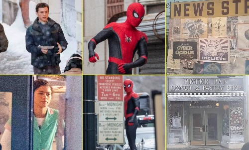 First Set Pics Of 'Spider-Man 3' Are Here And It Features Tom Holland, Zendaya, And Mysterio