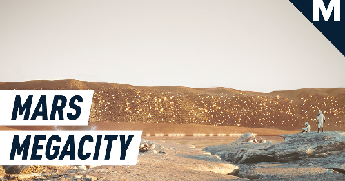 This is what a Mars megacity could look like