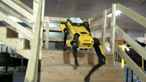 Boston Dynamics says its stair-scaling robot dog will be sold in 2019