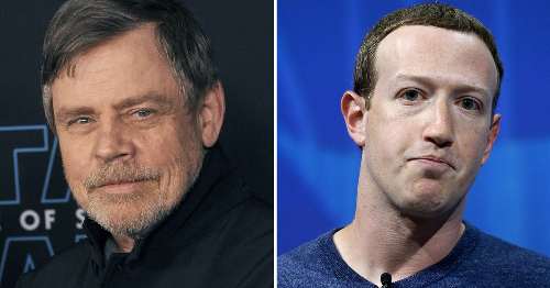 Mark Hamill joins critics in deleting Facebook, condemning Zuckerberg