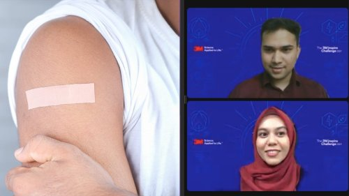 2 Malaysian students invent smart bandage that monitors different wound stages