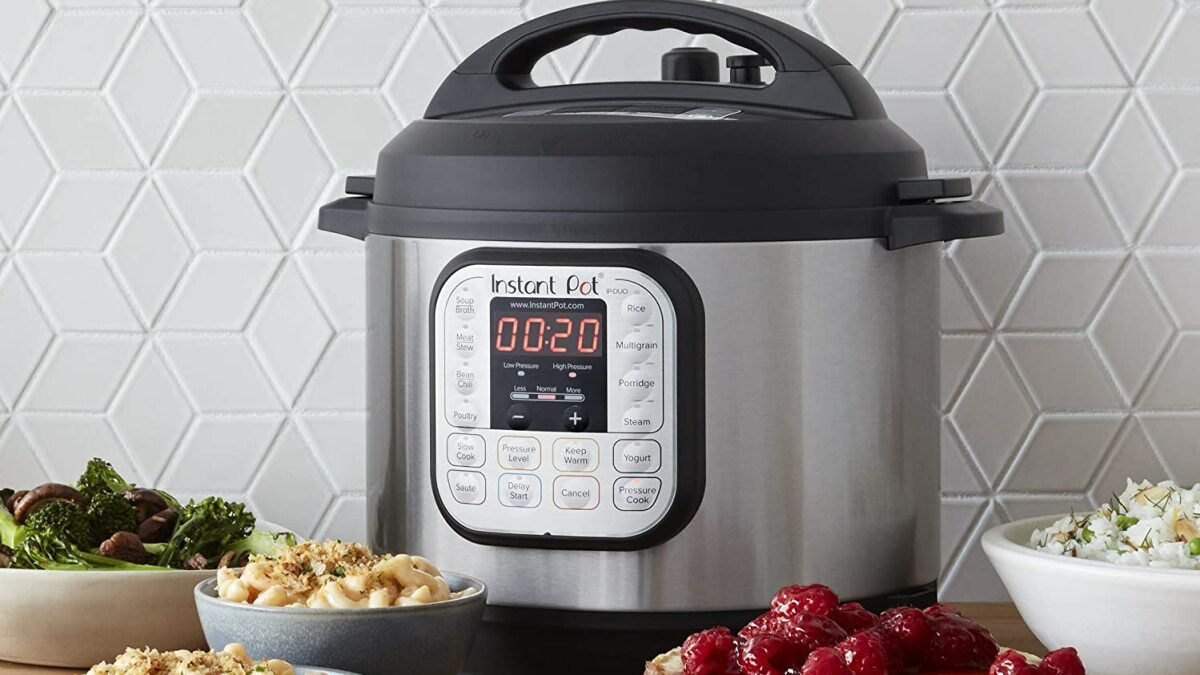 Score a 7-in-1 Instant Pot Duo for over $20 off