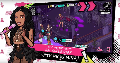 Nicki Minaj's new mobile game is a challenge to 'become the next rap superstar'